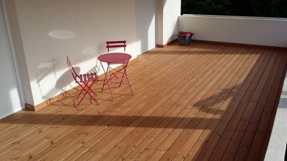 Faire une terrasse en bois sur toit terrasse tanche aix - Rendre une terrasse etanche ...