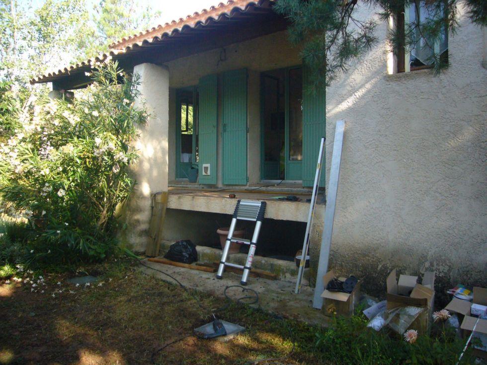 r aliser une extension de terrasse en bois sur aix en provence ambiance terrasse. Black Bedroom Furniture Sets. Home Design Ideas