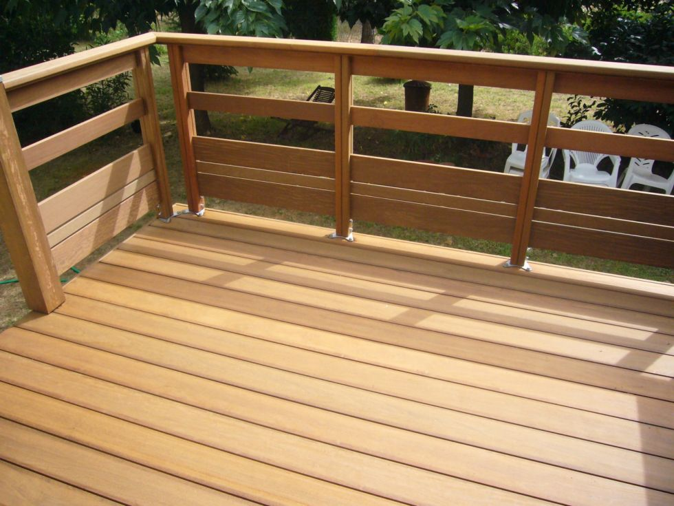 Realiser terrasse bois for Realiser une terrasse