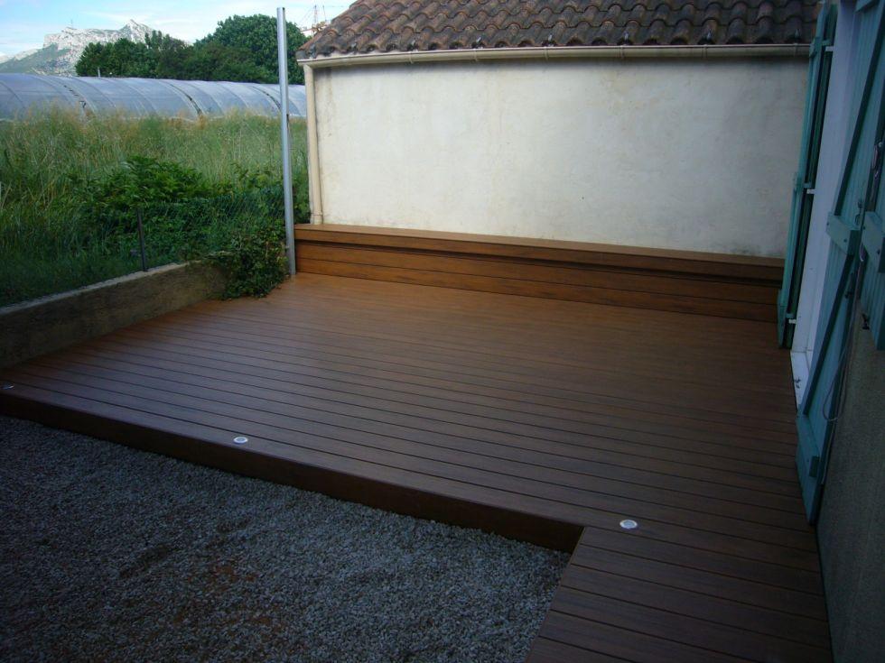 aix en provence 13 Terrasse en bois design Bouches du rhone aix en