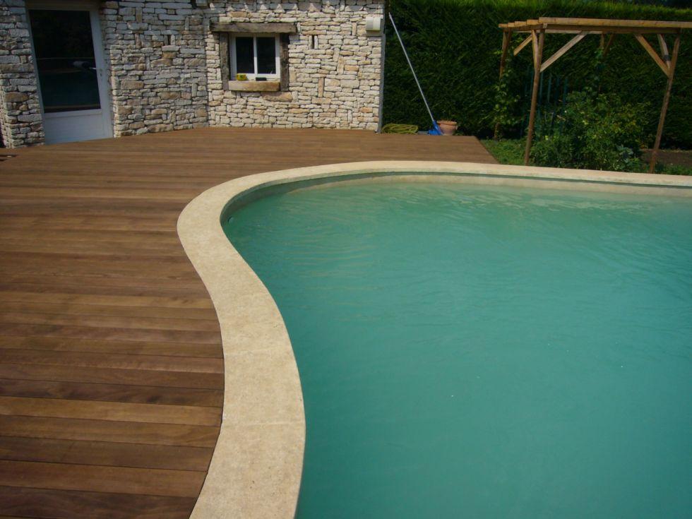 plage de piscine en bois kenony salon de provence