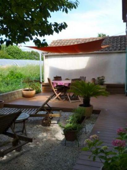 terrasse en bois composite sur Aix en provenceAMBIANCE TERRASSE