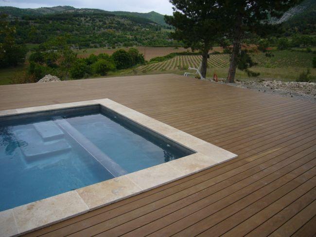 Tour de piscine en ip aix en provence bouches du rhone for Ou trouver du bois flotte en bretagne