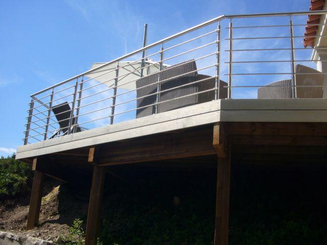 faire une extension de terrasse en bois sur la r gion d 39 aix en provence ambiance terrasse. Black Bedroom Furniture Sets. Home Design Ideas
