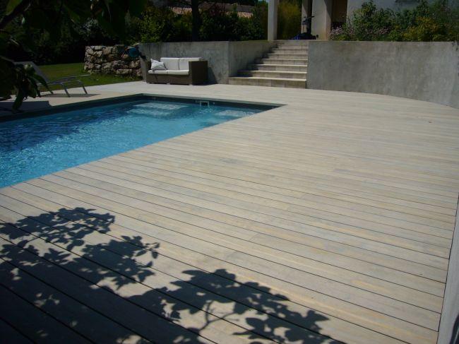 Terrasse en bois design Bouches du rhone aix en provence  AMBIANCE